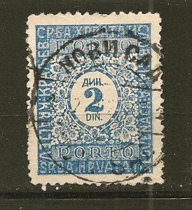 Yugoslavia J7 Postage Due Used