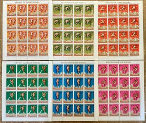 Stamps Full Set in Sheets Olympic Games Montreal 76 Comores Perf.