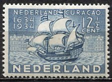 Netherlands; 1934: Sc. # 203: *-/MHH Single Stamp