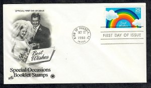 2396 Special Occasions Unaddressed ArtCraft FDC