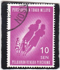 Malay,  Federation  of Malaya #  108