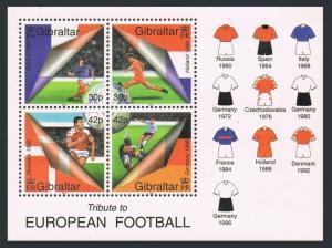 Gibraltar 2000, Soccer MNH  S/S # 835a
