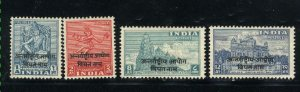 India-Viet Nam #2-5   Mint NH VF 1954 PD