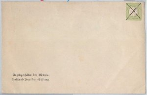65949 - GERMANY  -  POSTAL STATIONERY  COVER - Borek 2b - ORIGINAL!!