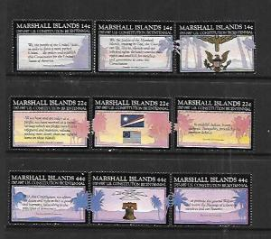 MARSHALL ISLANDS,143-151, MNH, U.S CONSTITUTION