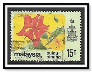 Penang #85 State Crest & Flowers Used
