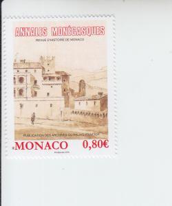 2016 Monaco Annales Monegasques (Scott 2861) MNH