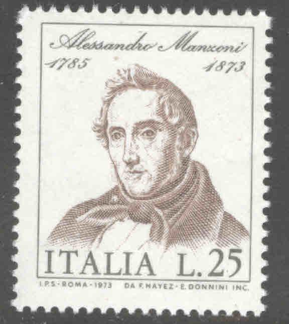 Italy Scott 1105 MNH** 1973 stamp