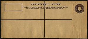 BR HONDURAS QE 4c+5c long size registered envelope fine unused - scarce....20088
