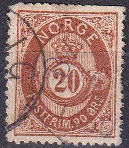 Norway #27 Used CV $12.00 (Z9599)
