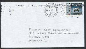 NEW ZEALAND 2007 cover 45c AUDI VORSPRUNG NZ Mail - scarce.................58140