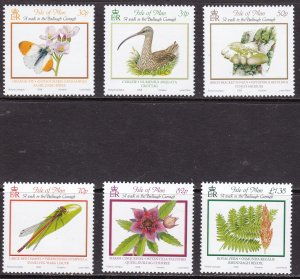 Isle of Man, Fauna, Birds, Butterflies, Fungi MNH / 2008