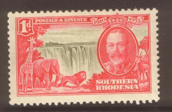 Southern Rhodesia 1935 1d SG31 hinged mint