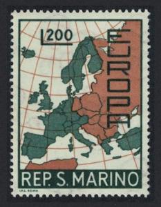 San Marino Europa issue 1967 SG#825