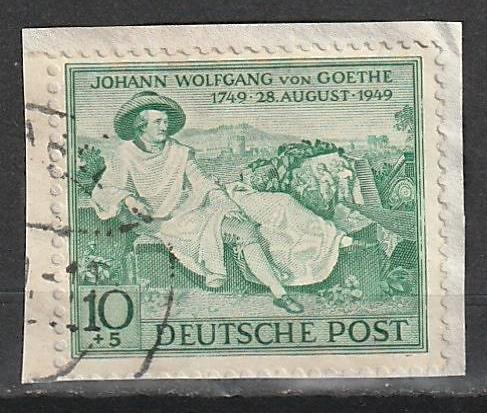 B306 Germany Used Semi-Postal on paper