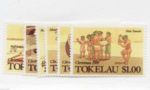 1988 Tokelau Islands - Sc# 157-62 ** MNH Christmas traditions postage stamp set