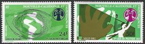 New Caledonia #C127-C128 MNH Full Set of 2 cv $5.50