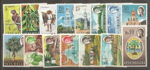 British Indian Ocean Territory SC 1-15 MNH