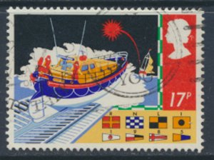 Great Britain  SG 1286  SC# 1107 Safety at Sea   Used see detail and scan