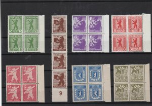 German Russian Zone 1945 mint never hinged Stamps Ref 15714