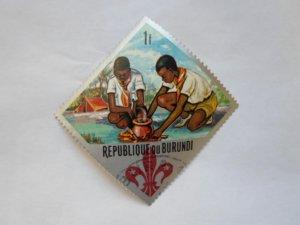 REP. BURUNDI STAMP CTO MINT NOT HINGED # 16