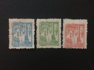 china memorial stamp set, liberated area, north east zone, MNH, rare, list#122