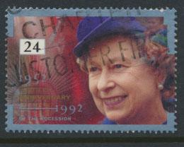 Great Britain SG 1606    Used  - Anniversary of Accession