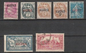 Algeria Overprints Used lot #190918-2