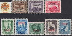 ITALY SOMALIA Onoranze al Duca degli Abruzzi cv 1020$ MNH**  Sass. n. 185-192