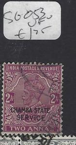 INDIA CHAMBA  (PP2410B)  KGV   SERIVICE  2A    SG O53       VFU