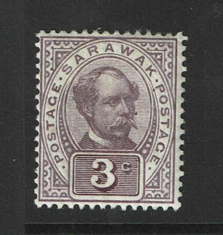 Sarawak SG# 38, Mint Hinged, minor curling - S983