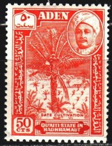South Arabia. 1955. 34 from the series. Dates, Sultan Ghalib. MNH.