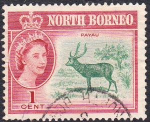 North Borneo #280 Used