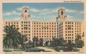 Cuba Postcard Havana National Hotel Unused