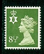 Northern Ireland - #NIMH11 Machin Queen Elizabeth II - MNH