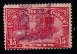 US Sc Q7 Used Parcel Post Fine CV $15.00