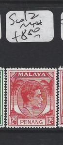MALAYA PENANG  (P1705B)  12C  KGVI  SG12    MNH