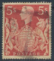 Great Britain  SG 477 SC# 250 Used   see details   and scans
