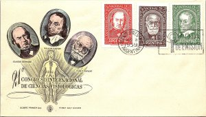 Argentina, Worldwide First Day Cover, Medical