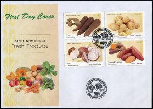 Papua New Guinea 2019. Fresh Produce (Mint) First Day Cover