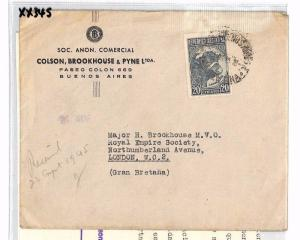ARGENTINA Buenos Aires GB London Contents Royal Empire Society 1945 XX345
