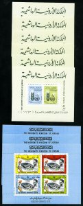 Jordan Mint NH 1960s Stamp Collection on Pages
