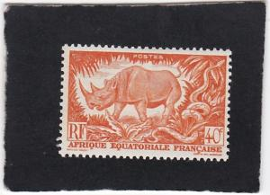 French Equatorial Africa #168  unused