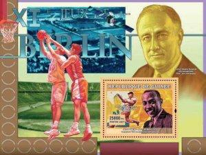 WD02/16/20-Guinea - XI Olympics -  Stamp Souvenir Sheet 7B-220