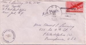 United States Ships 6c Transport 1944 U.S. Navy Buy Bonds U.S.S. Capella Type...