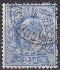 Great Britain #131  F-VF Used CV $11.50  (Z4610)