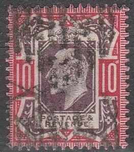 Great Britain #137 F-VF Used CV $70.00 (A16190)
