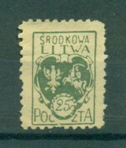 Central Lithuania sc# 2 perf mhr cat value $.40