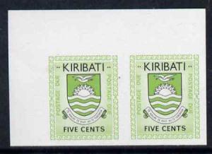 Kiribati 1981 Postage Due 1981 5c black & green in su...