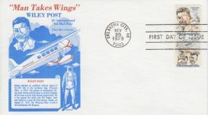 1979 Wiley Post (Scott C95-6a) Gamm FDC